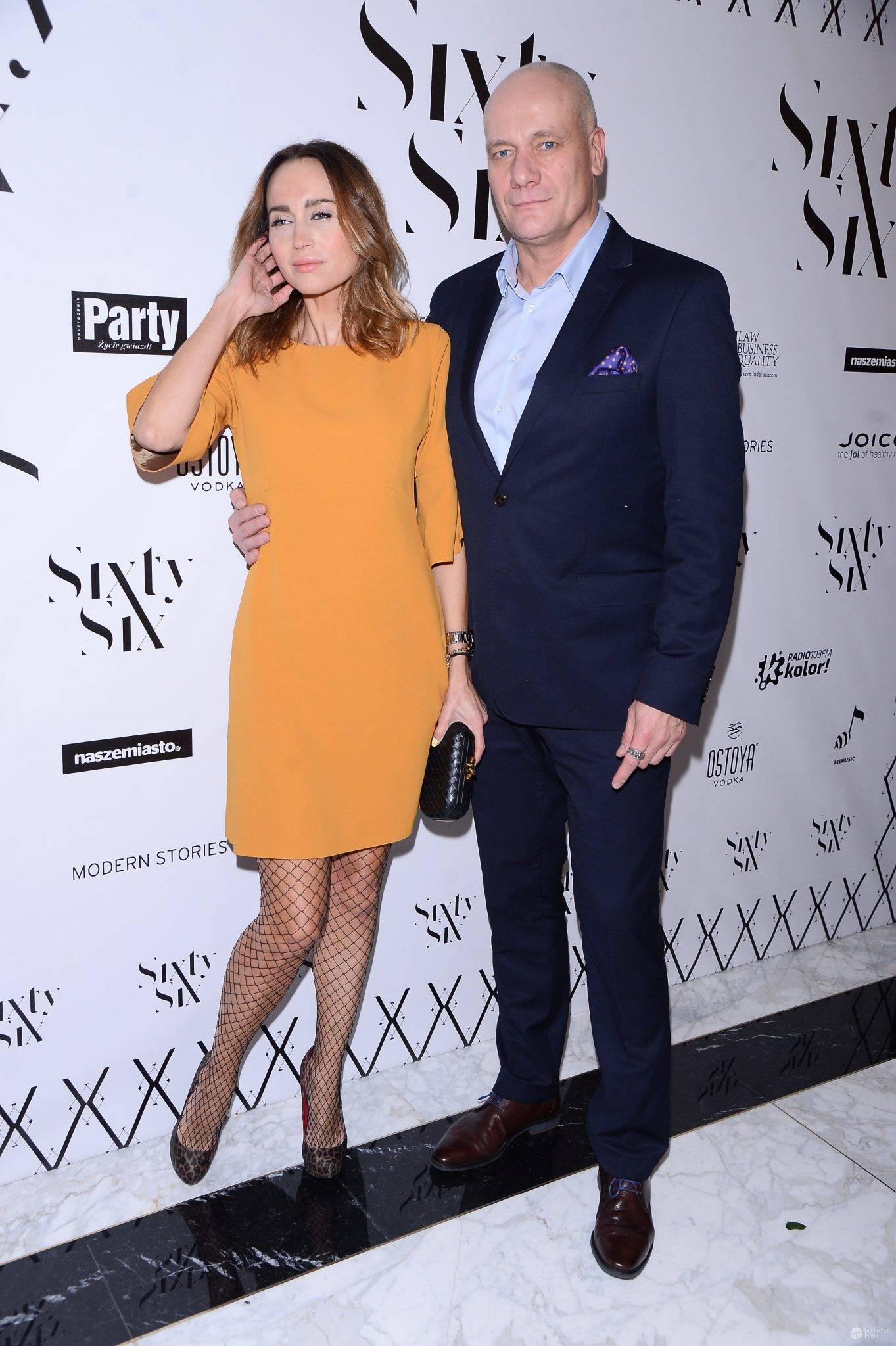 Piotr Zelt i Katarzyna Krawczyk- otwarcie hotelu SixtySix