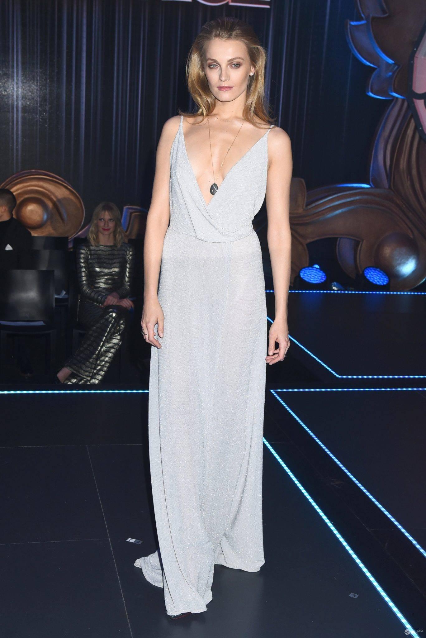 Anna Jagodzińska podczas finału 6 edycji Top Model