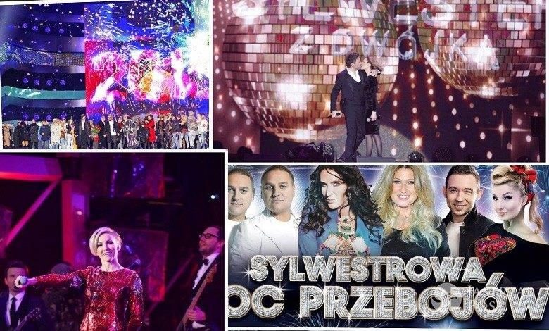 Sylwester 2016/17 w TVN, TVP, Polsat