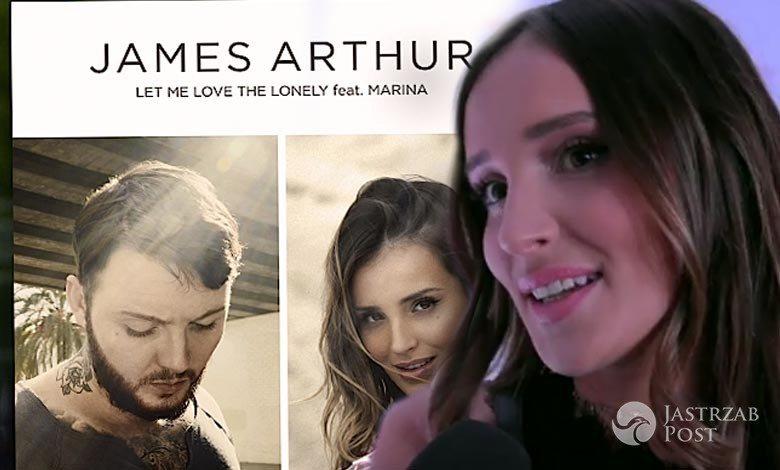 Marina o współpracy z Jamesem Arthurem