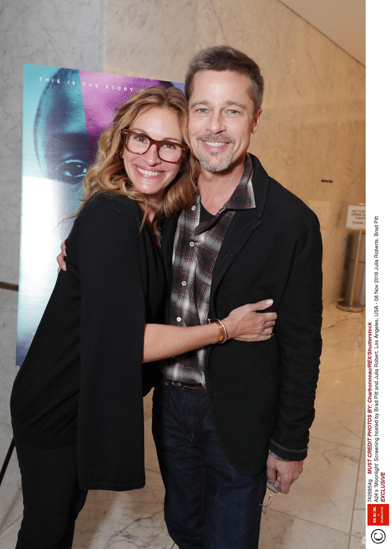 Brad Pitt z Julią Roberts