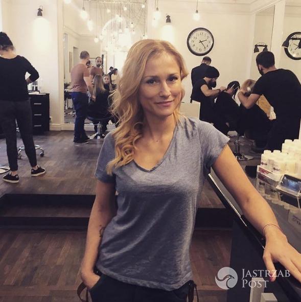 Sylwia Juszczak w nowej fryzurze