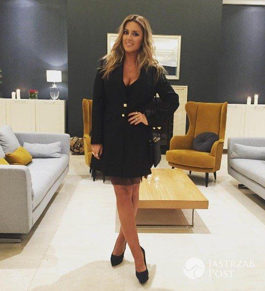 Karolina Szostak w seksownej sukience