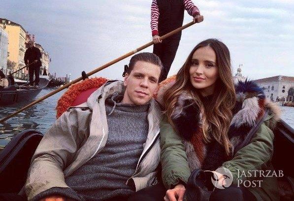 Marina i Wojciech Szczęsny w Wenecji