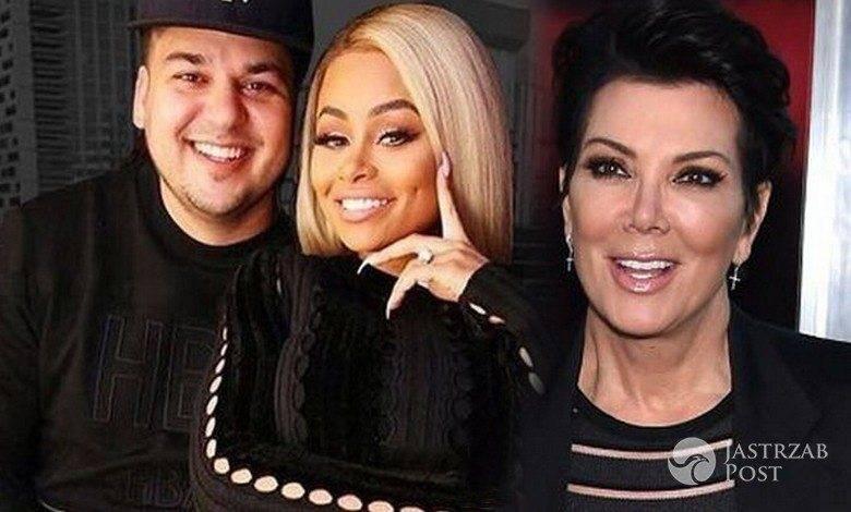 Kris Jenner, Blac Chyna i Rob Kardashian