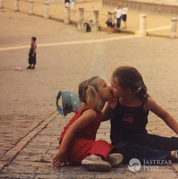 Pola Lis i Iga Lis w dzieciństwie