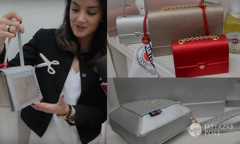 Sabrina Pilewicz o serii torebek dla Martini