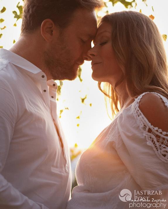 Tamara Arciuch i Bartek Kasprzykowski w ciążowej sesji - Instagram