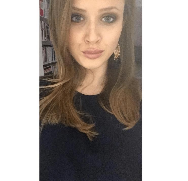 Pola Lis w makijażu zrobionym przez mamę Kingę Rusin - Instagram