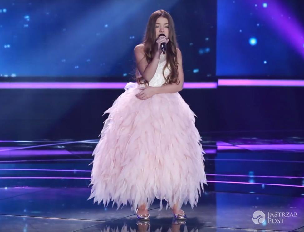 Kreacja Olivii Wieczorek na Eurowizję Junior 2016 - występ