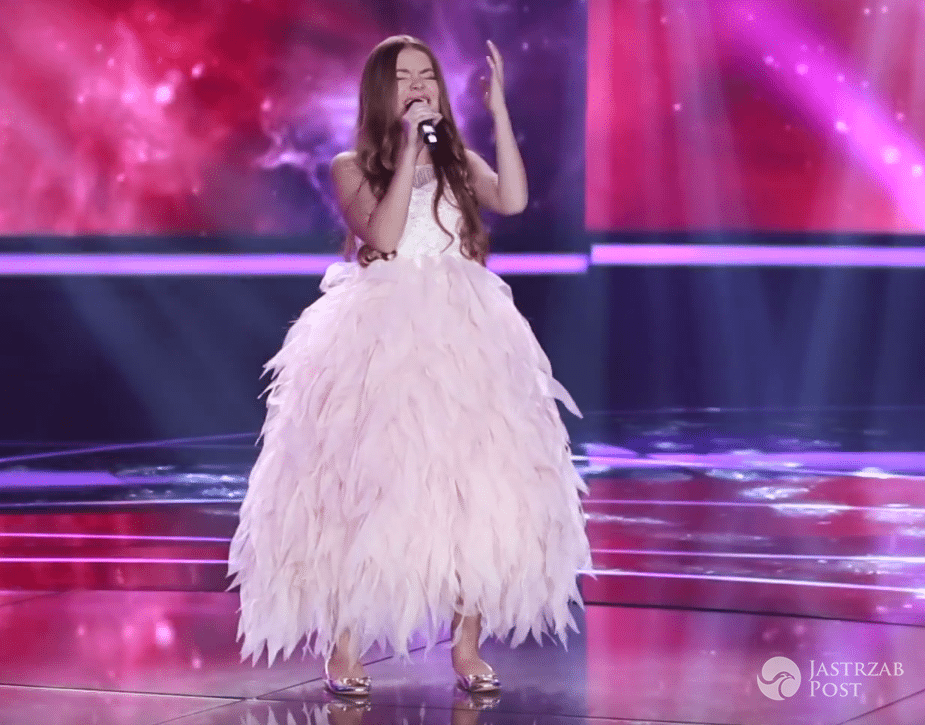 Olivia Wieczorek w sukni na próbie przed Eurowizją Junior 2016