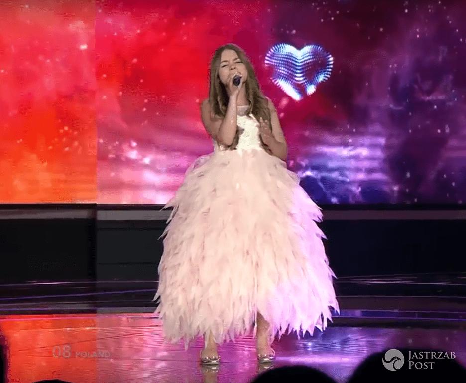 Występ Olivii Wieczorek z Polski na Eurowizji Junior 2016