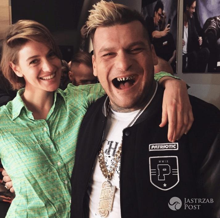 Renata Kaczoruk i Popek - Instagram
