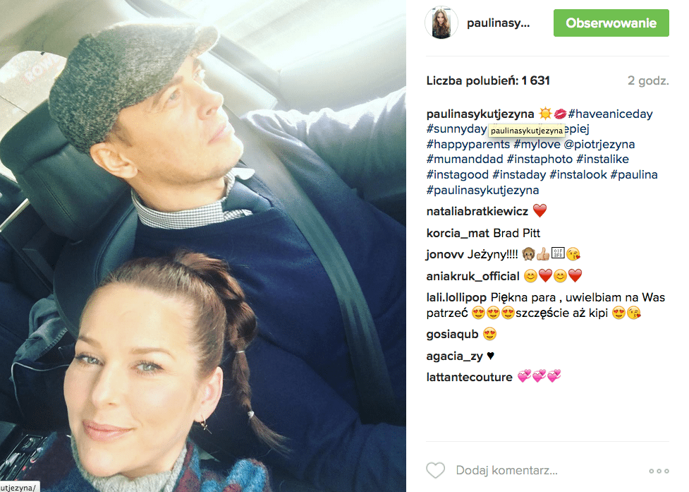 """Zdjęcie (5) Paulina Sykut pokazała urocze zdjęcie z córką: """"Tyle szczęścia"""". Fani nie kryją wzruszenia"""