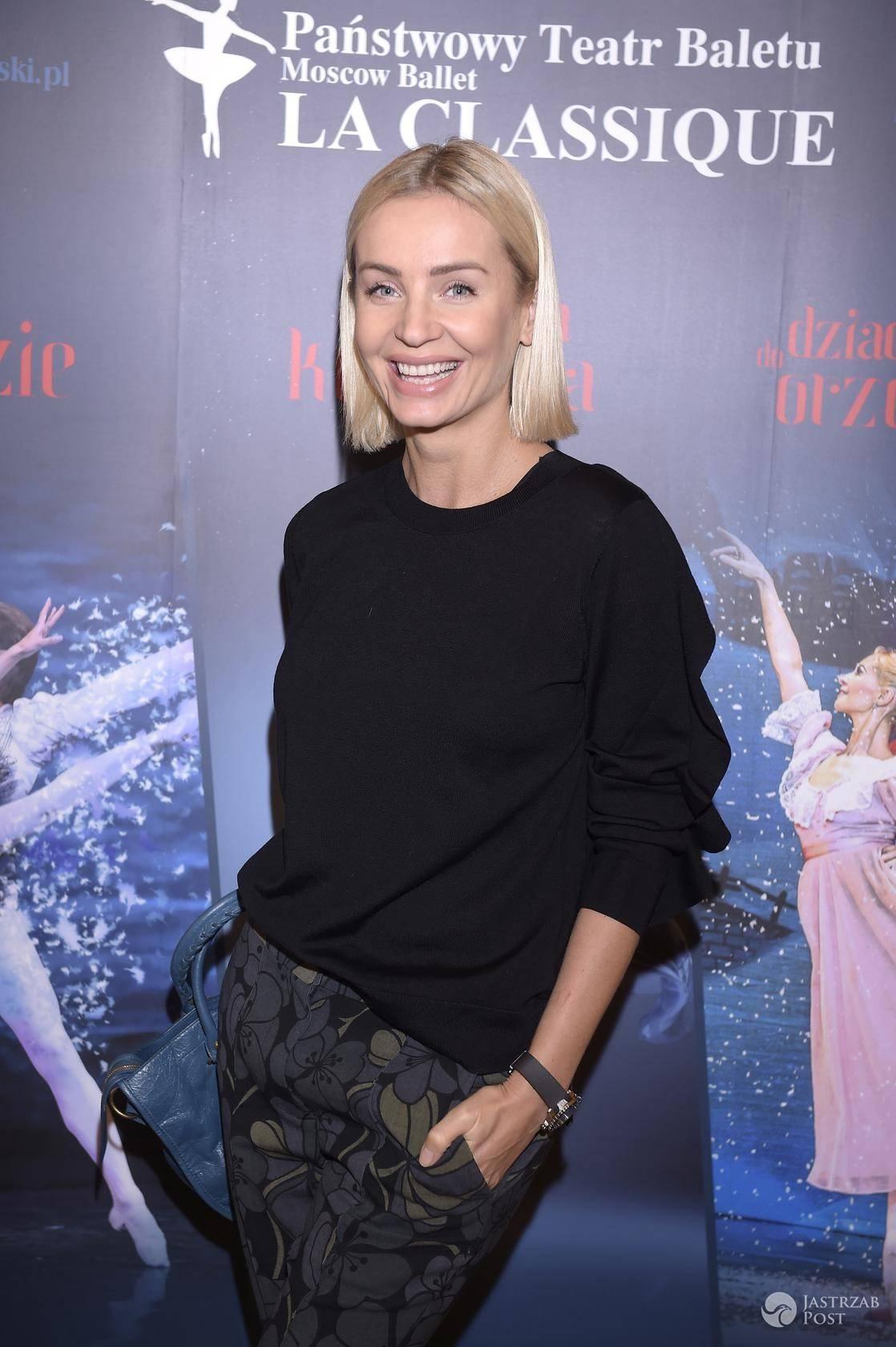 """Agnieszka Woźniak-Starak - spektakl """"Jezioro Łabędzie"""" w Teatrze Wielkim w Łodzi"""