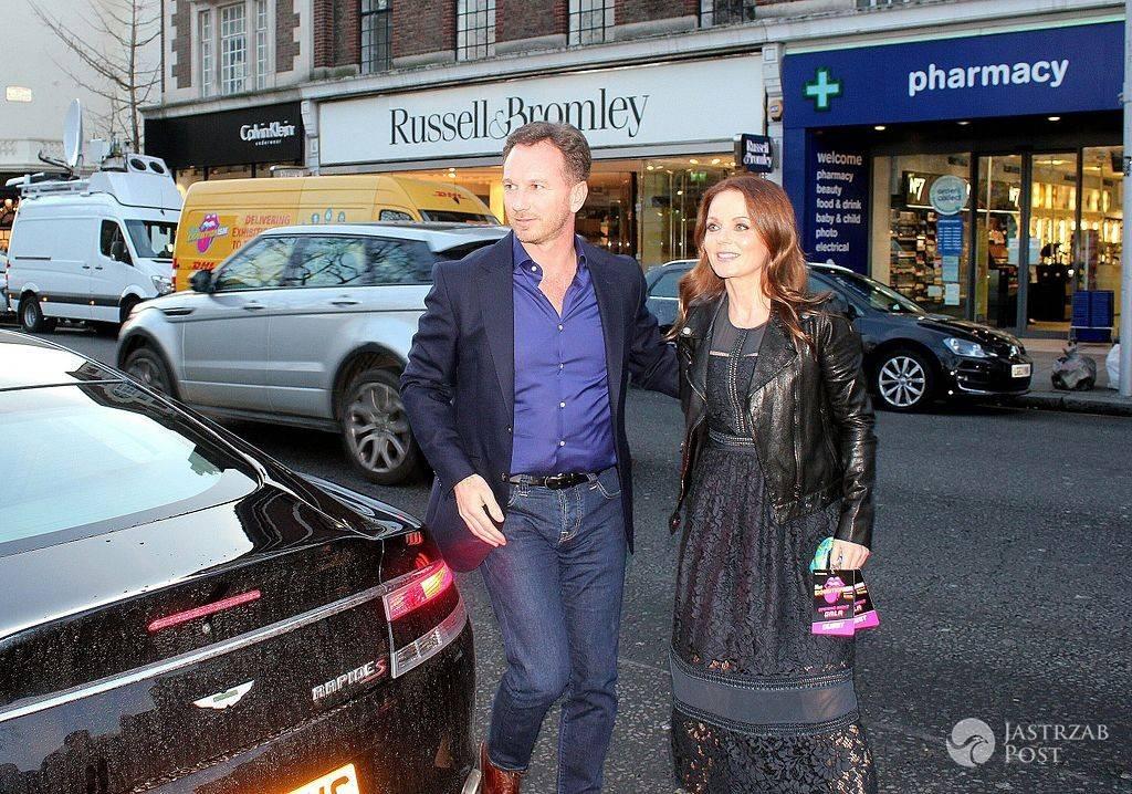 Ojcem drugiego dziecka Geri Halliwell i jest jej mąż Christian Horner