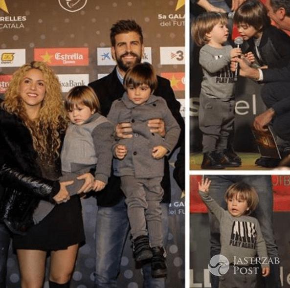 Shakira i Gerard Pique razem z dziećmi na gali w Katalonii fotki