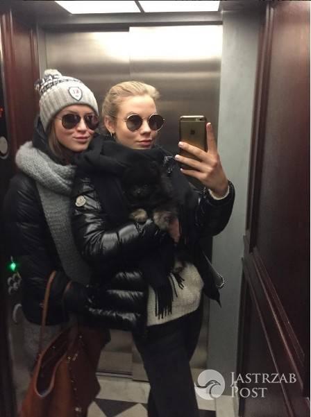 Iga Lis i Pola Lis pokazały selfie z windy