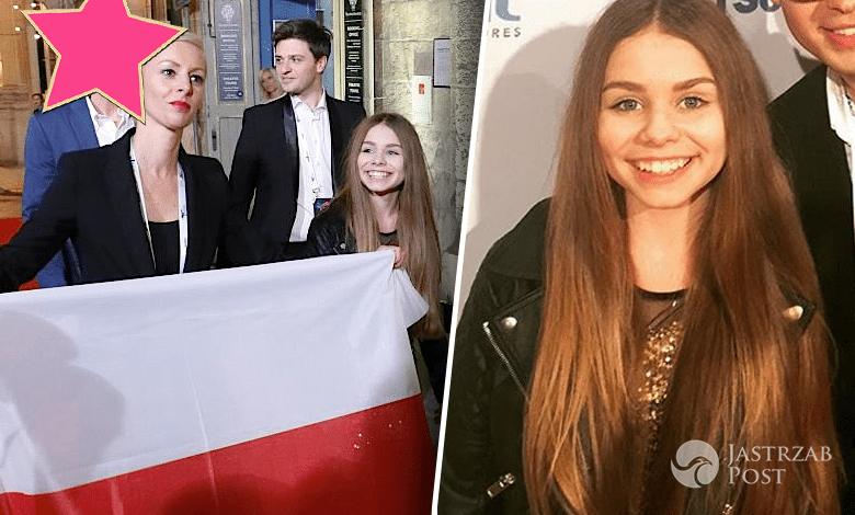 Olivia Wieczorek z Piotrem Rubikiem na Eurowizji Junior 2016