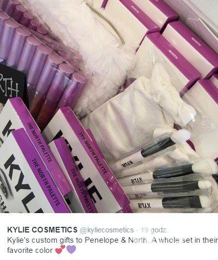 Kylie Jenner dała prezenty North West i Penelope