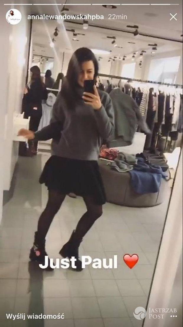 Anna Lewandowska kupuje ciążowe ubrania