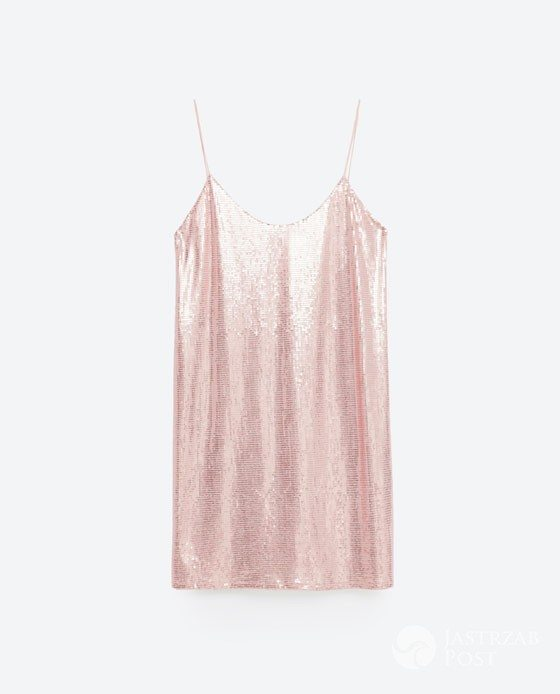 cekinowa sukienka Zara, cena: 139zł