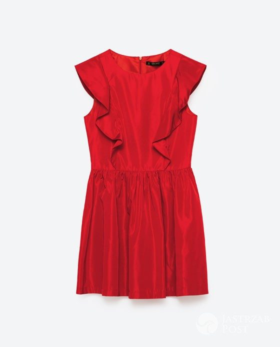 Czerwona sukienka Zara, cena: 139zł