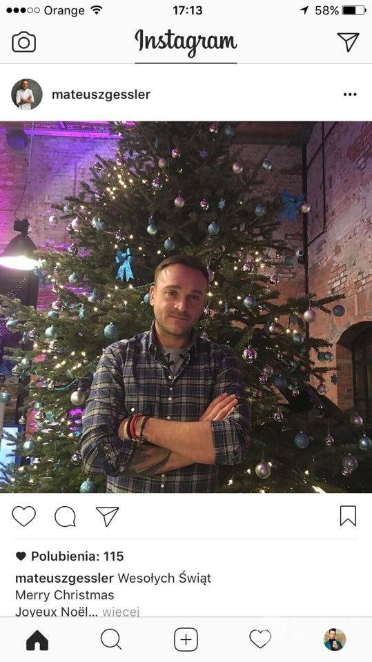 Mateusz Gessler - święta 2016, Wigilia zdjęcia