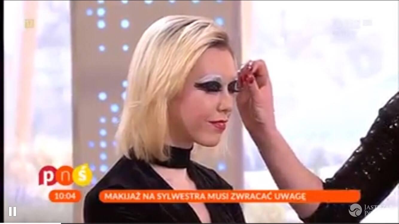 Makijaż na Sylwestra 2016 w TVP