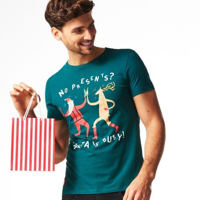 T-shirt męski Reserved, cena: 39zł