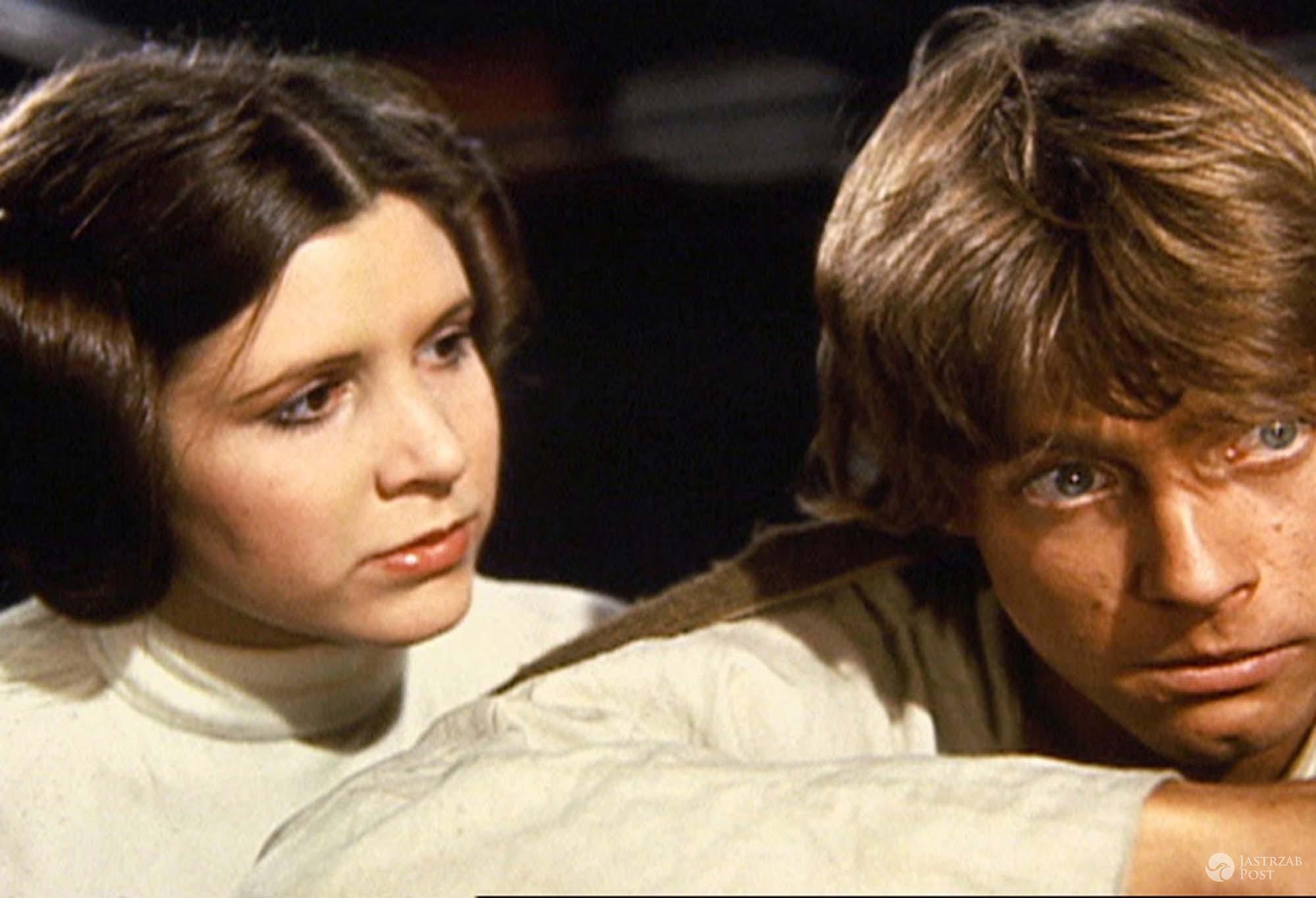 Carrie Fisher w Gwiezdnych Wojnach