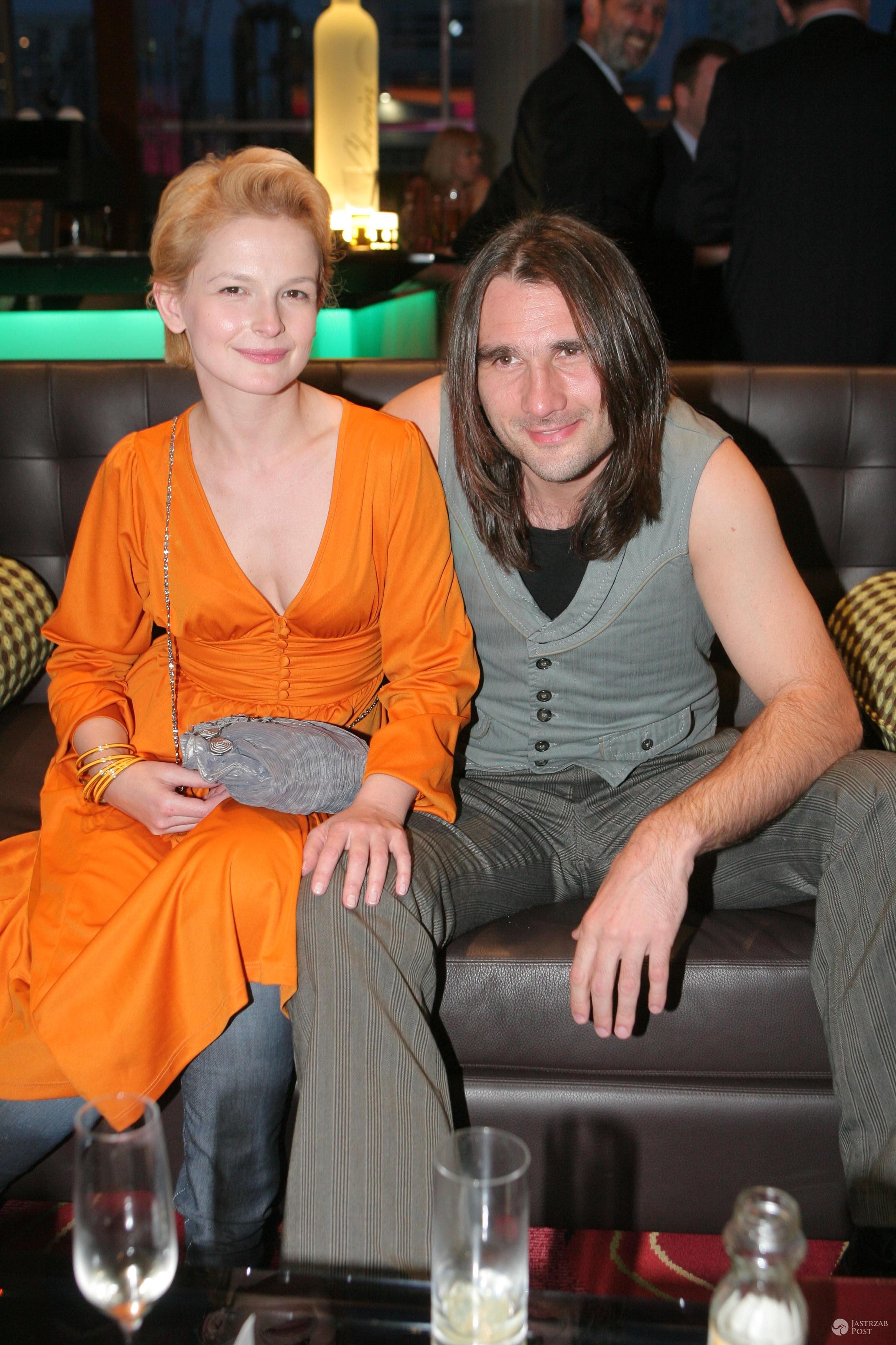 Dominika Ostałowska z mężem Hubertem Zduniakiem