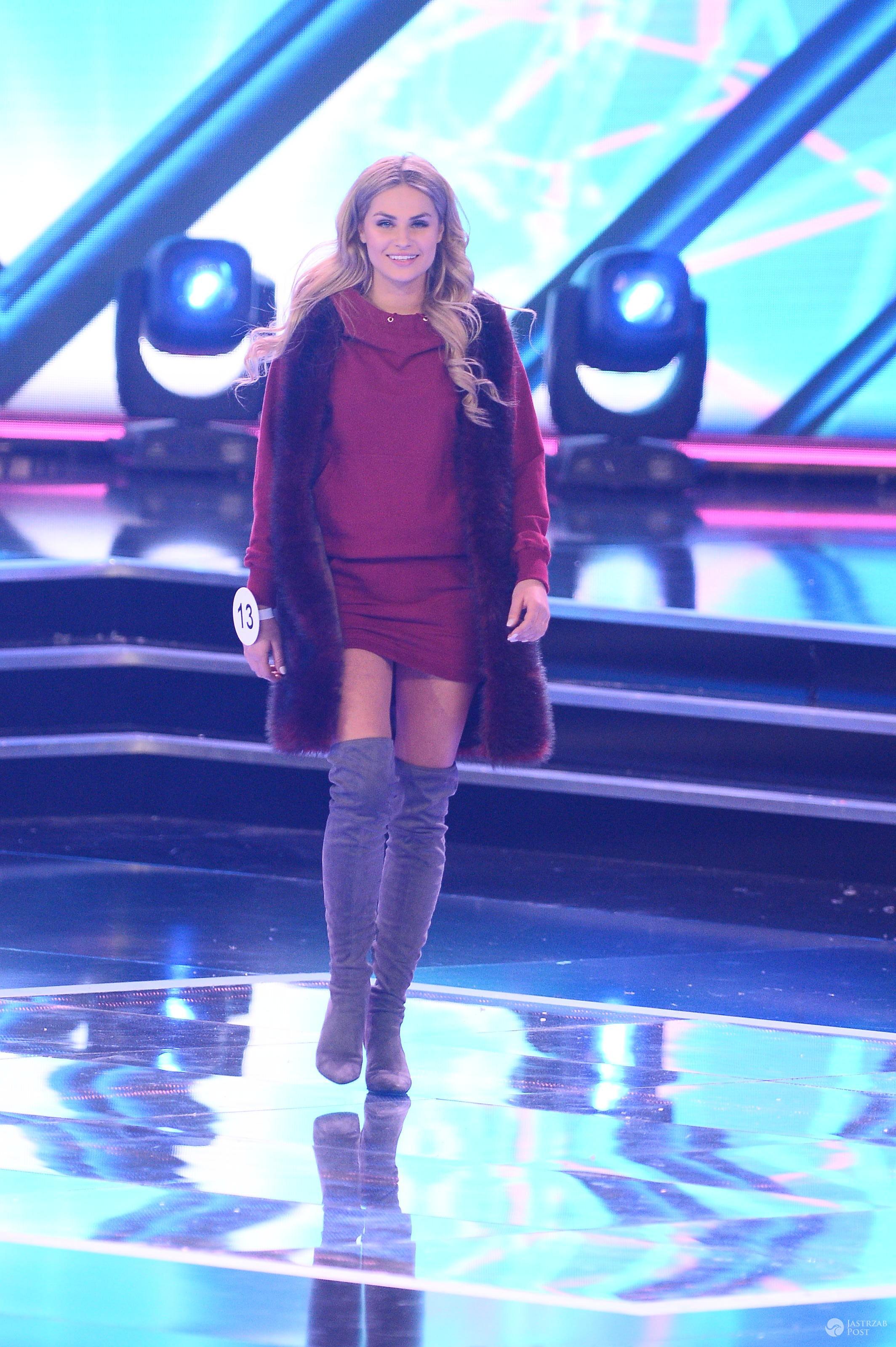 Laura Mancewicz w futrze - Miss Polski 2016