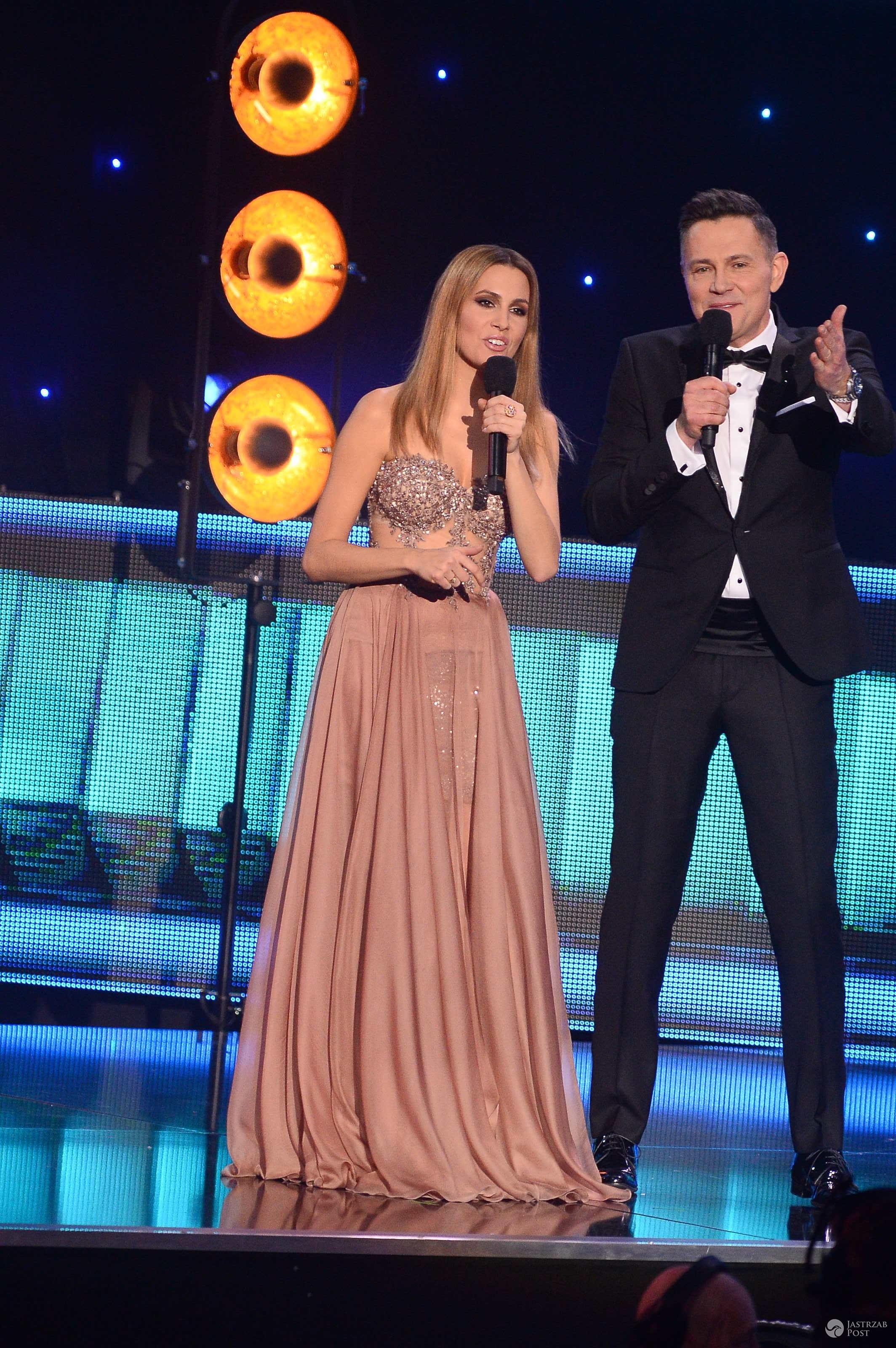 Agnieszka Hyży w trzeciej kreacji na Miss Polski 2016