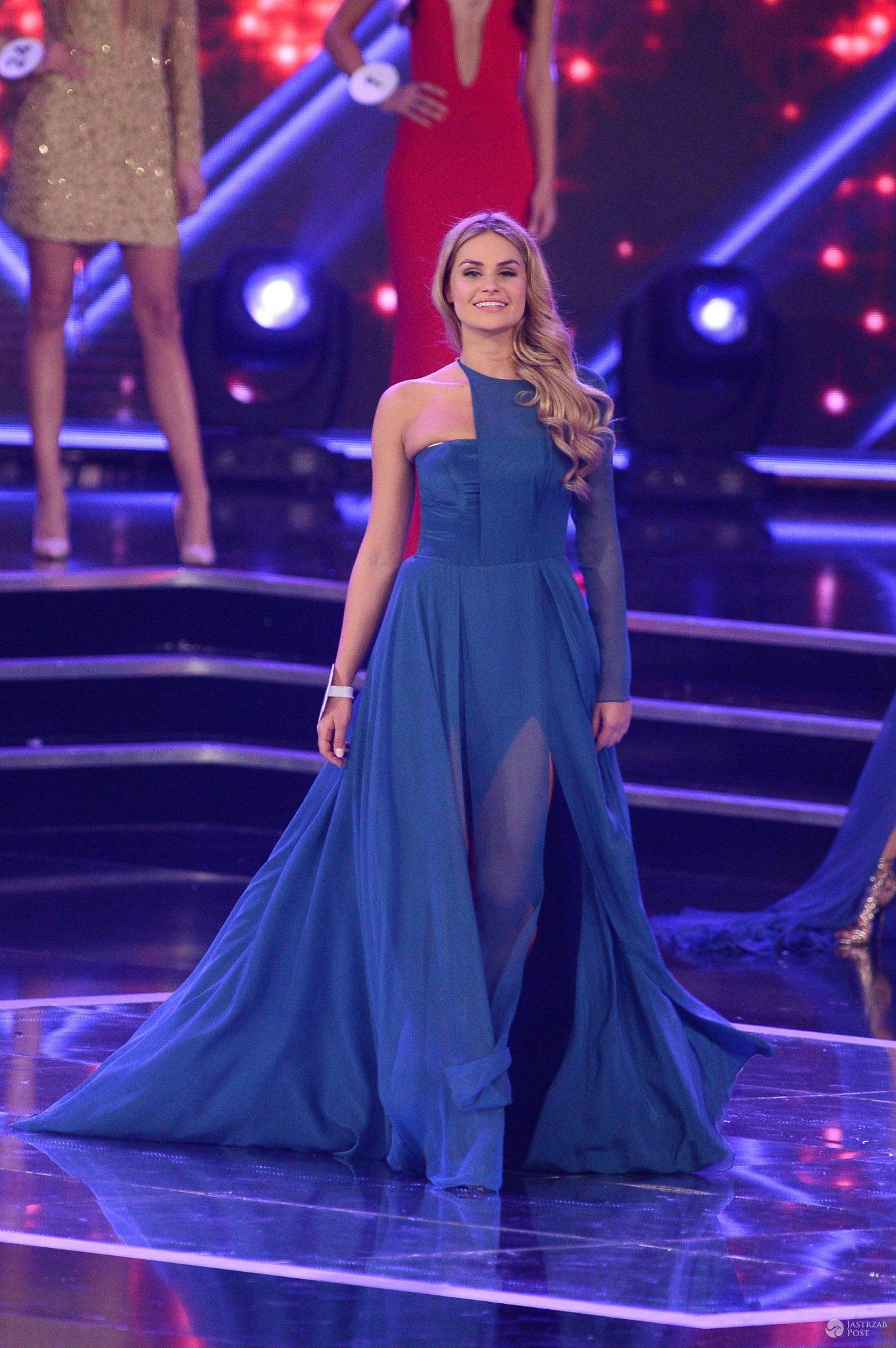 Laura Mancewicz w kreacji finałowej na Miss Polski 2016