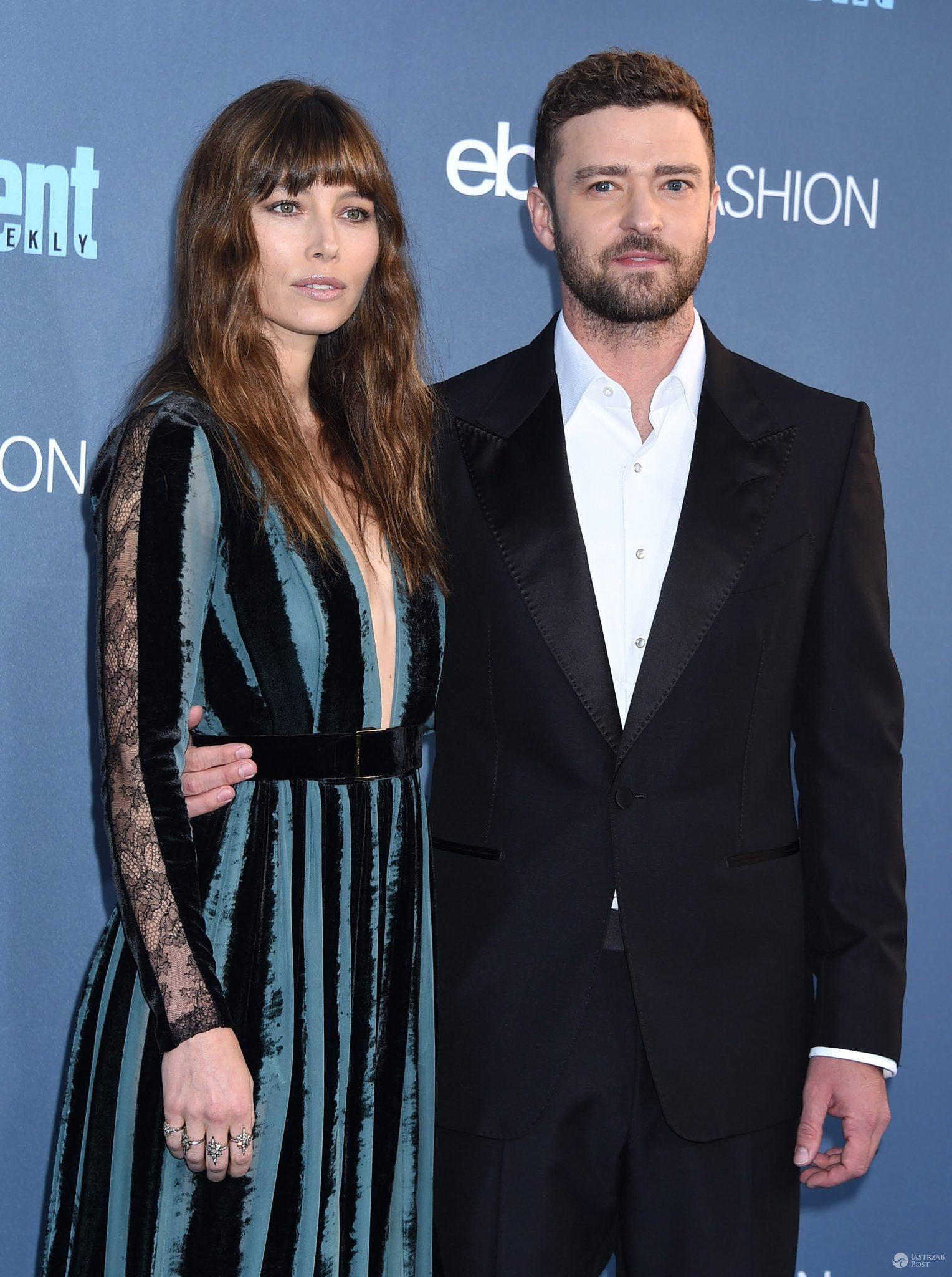 Justin Timberlake i Jessica Biel - 22nd Annual Critics' Choice Awards 2016