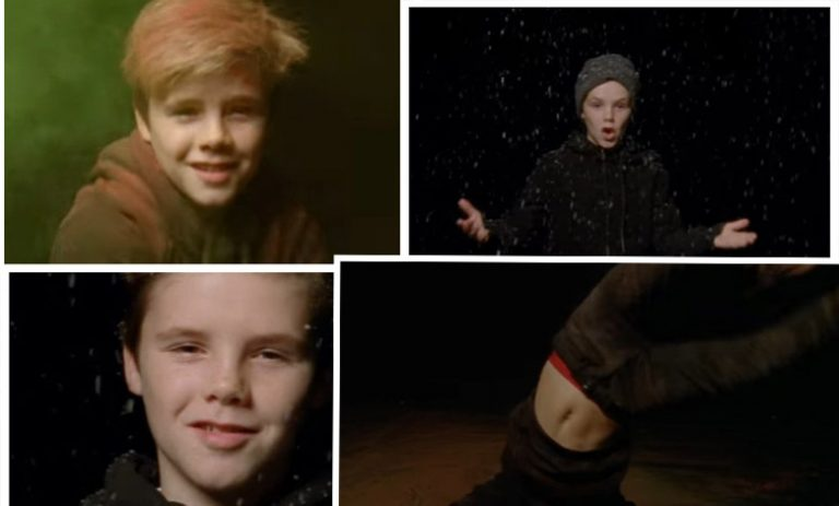 "Cruz Beckham - teledysk do piosenki ""If Everyday Was Christmas"""