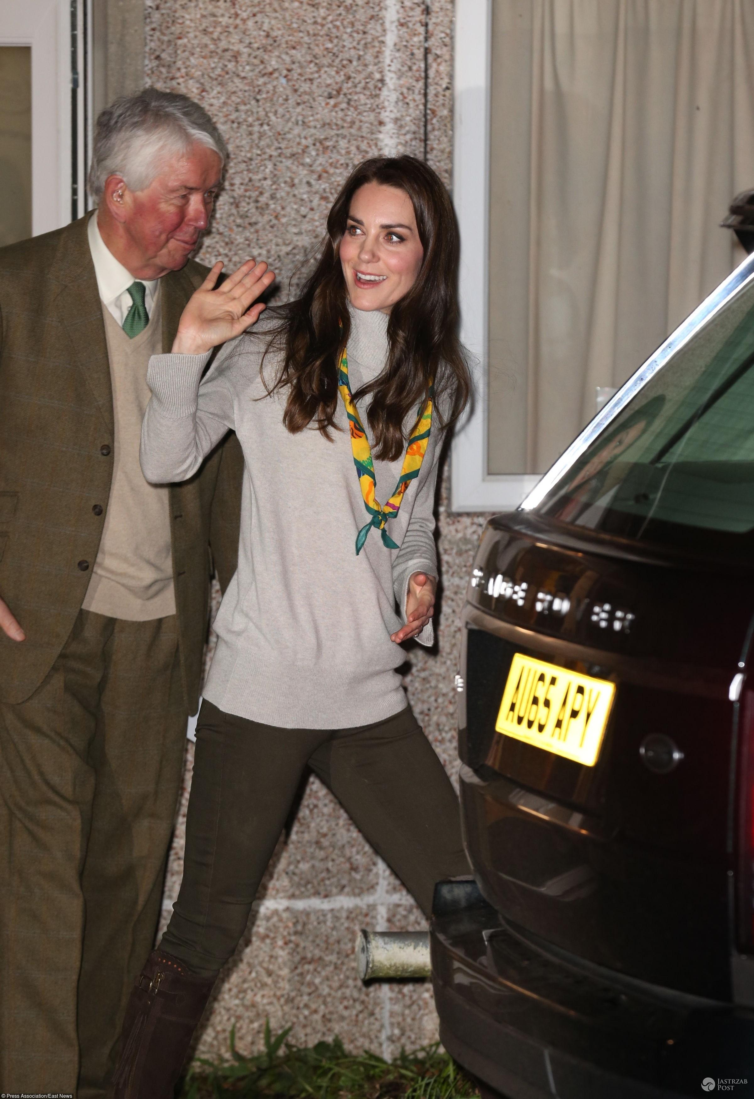 Księzna Kate na spotkaniu ze skautami