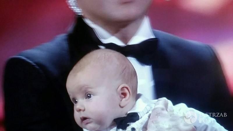 Maciej Stuhr pokazał syna
