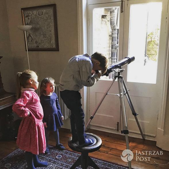 Anna Kalczyńska z dziećmi zwiedza Londyn - Instagram