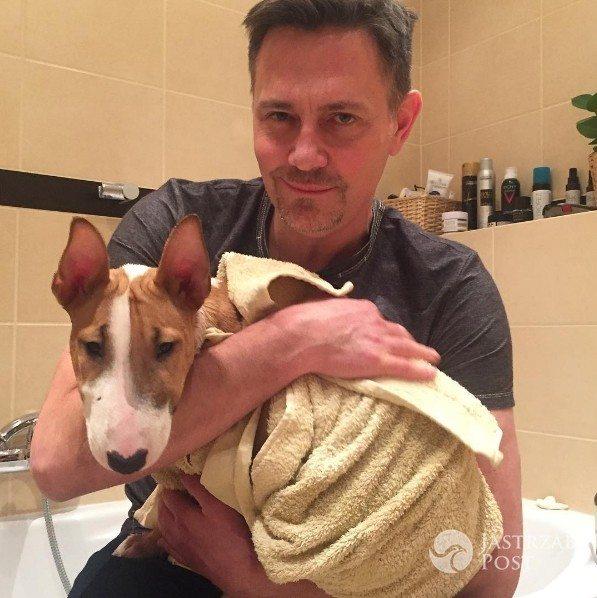 Krzysztof Ibisz pokazał swojego psa