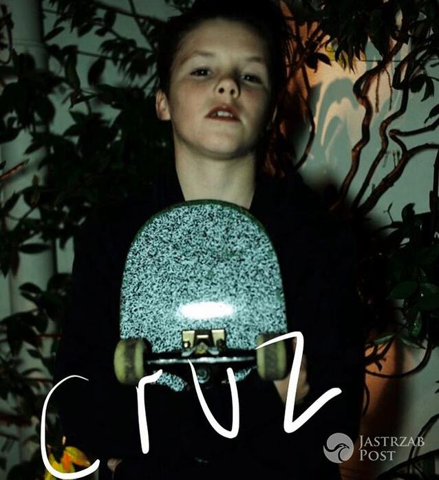 Profil Cruza Beckhama na Instagramie