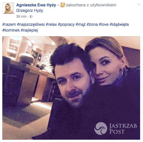 Agnieszka i Grzegorz Hyży święta