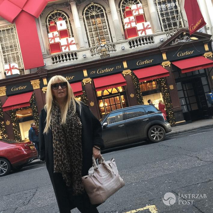 Maryla Rodowicz w Londynie - Instagram