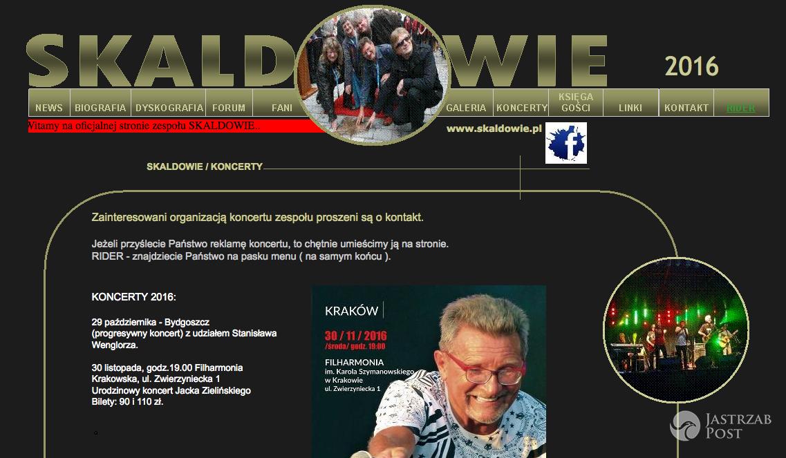 Skaldowie - Sylwester 2016 - odwołany występ w TVP