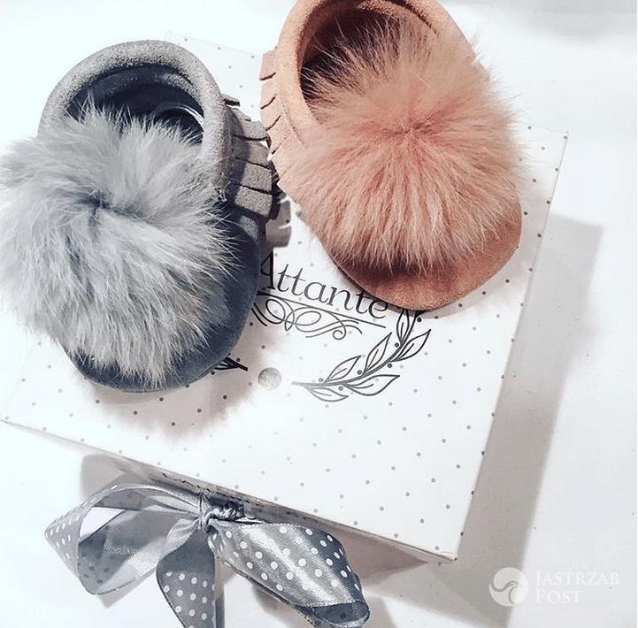 Paulina Sykut dostałą buciki dla córki - Instagram