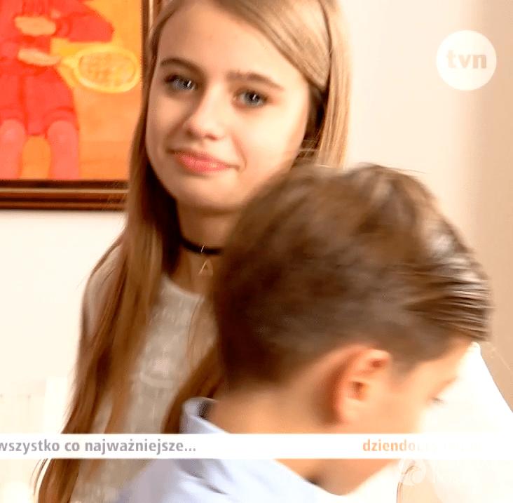 Oliwia Bieniuk - córka Anny Przybylskiej i Jarosława Bieniuka