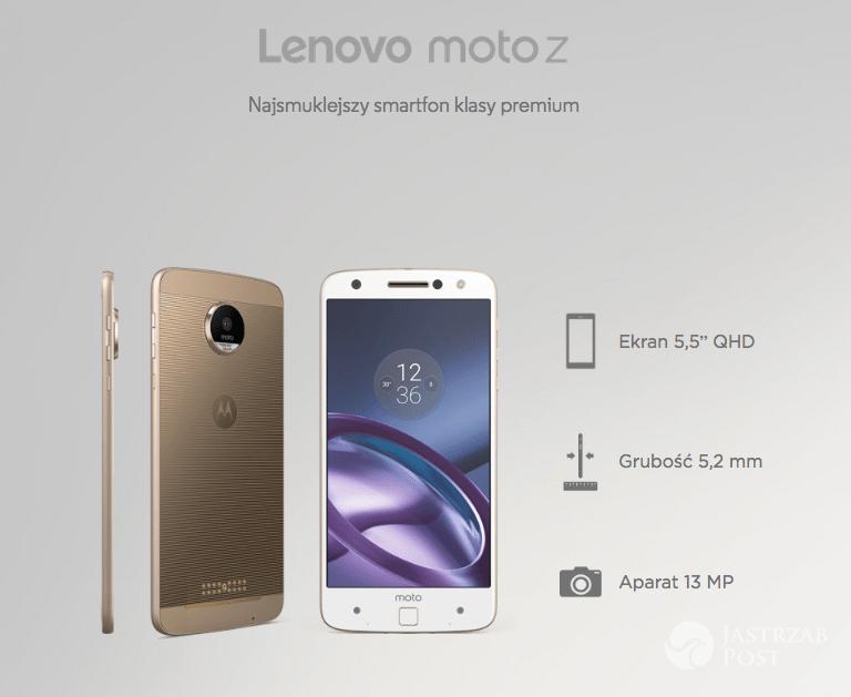 Lenovo Moto Z - nowy telefon Natalii Siwiec