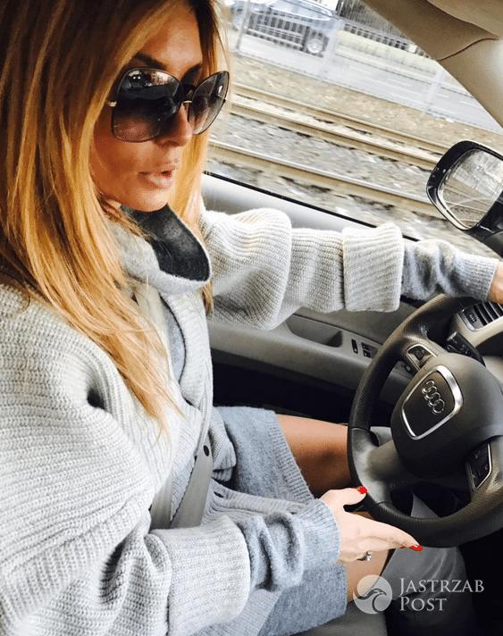 Małgorzata Rozenek w drodze na zakupy - Instagram