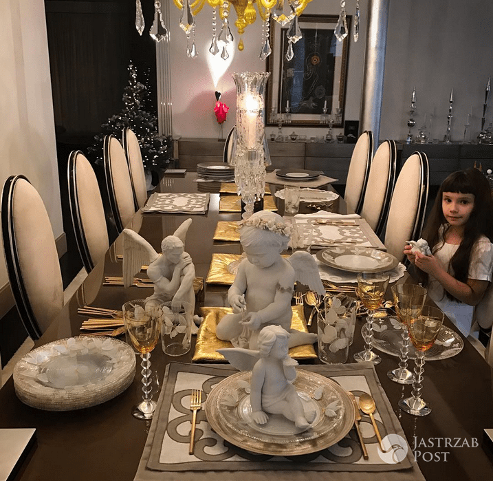 Świąteczny stół na Wigilię u Joanny Przetakiewicz